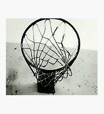 Basketball Net Photographic Print