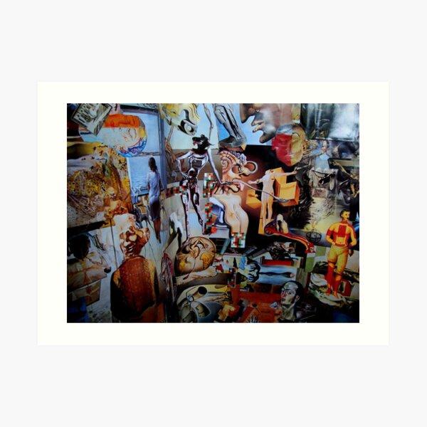Dali Collage. Art Print