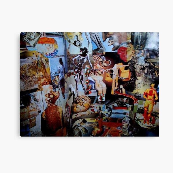 Dali Collage. Canvas Print