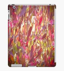 Pink, Green And Brown Summer iPad Case/Skin