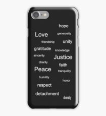 Justice - Charcoal iPhone Case/Skin