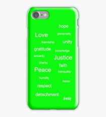 Justice - Lime iPhone Case/Skin