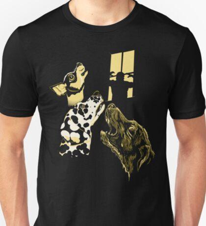 Three Dogs Window T-Shirt