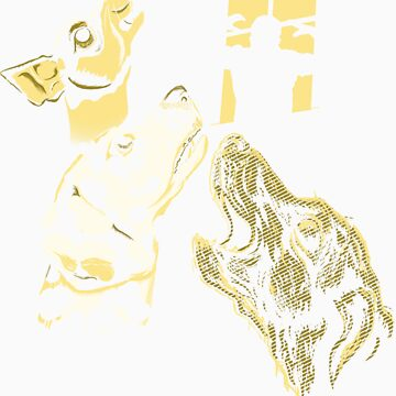 Three Dogs Window by sergio37