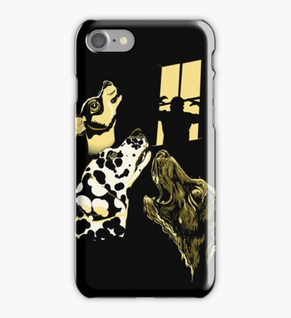 Three Dogs Window iPhone Case/Skin