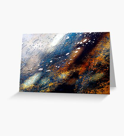 Water and Rust Greeting Card