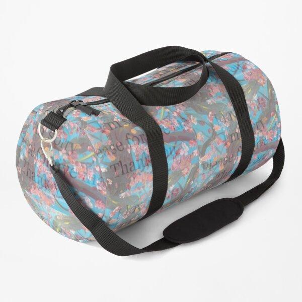 Ho'oponopono I love you I'm sorry Please Forgive Me Thank You Duffle Bag
