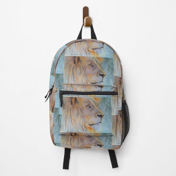 African Lion, Leo Starsign Backpack