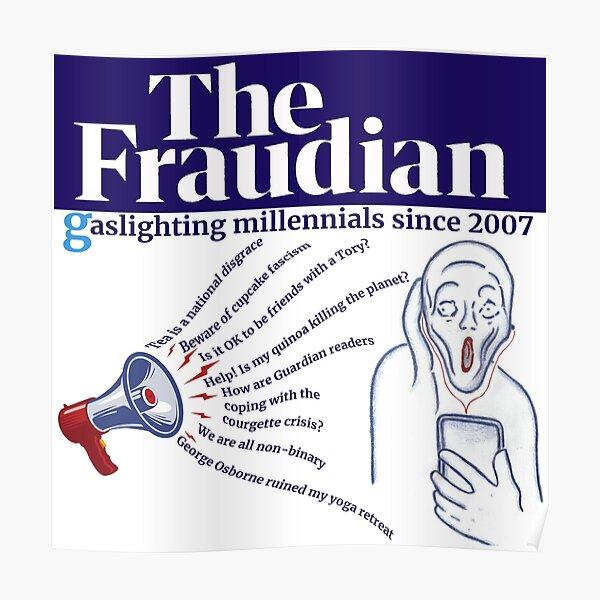 Gaslighting Millennials Poster