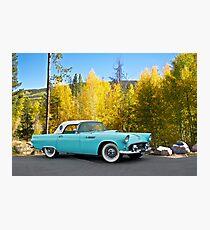 1956 Ford Thunderbird Photographic Print