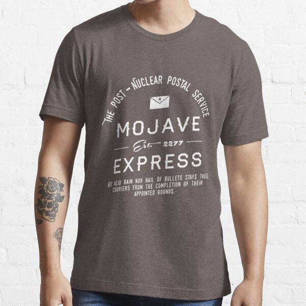Mojave Express - The Post Nuclear Postal Service. Essential T-Shirt