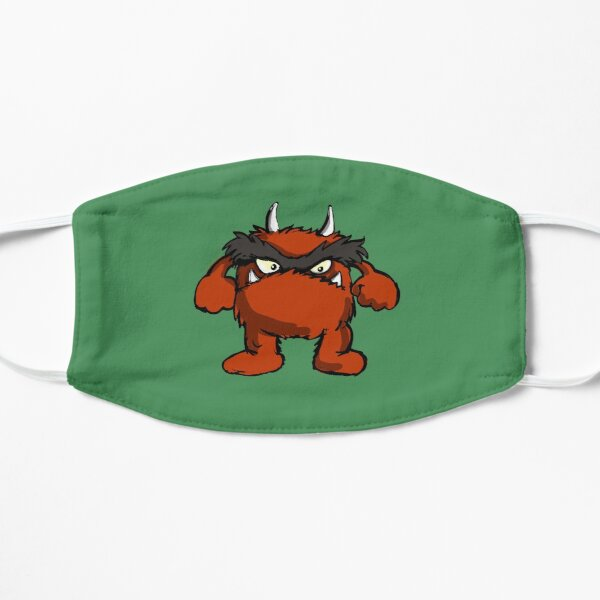 red monster Flache Maske