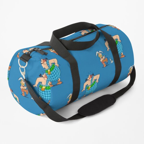 Asterix and Obelix laughing Duffle Bag