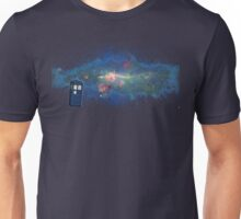 TARDIS & The Milkyway Unisex T-Shirt
