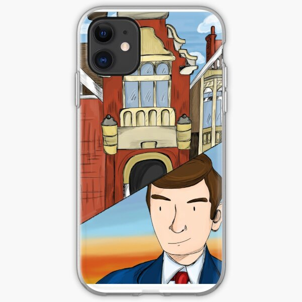 Alan Turing at Bletchley Park  iPhone Soft Case