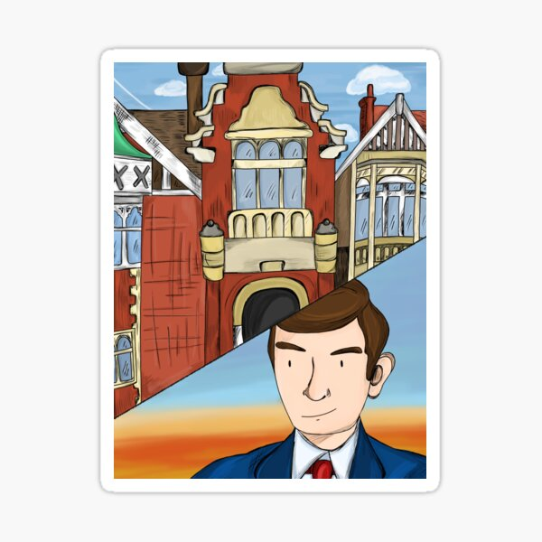 Alan Turing at Bletchley Park  Sticker