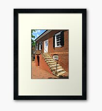 Old College Bookstore Framed Print