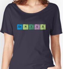 GENIUS! Periodic Table Scrabble Women's Relaxed Fit T-Shirt