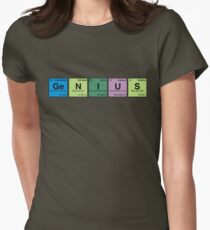 GENIUS! Periodic Table Scrabble T-Shirt