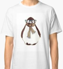 cute fluffy penguin Classic T-Shirt