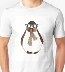 cute fluffy penguin Unisex T-Shirt