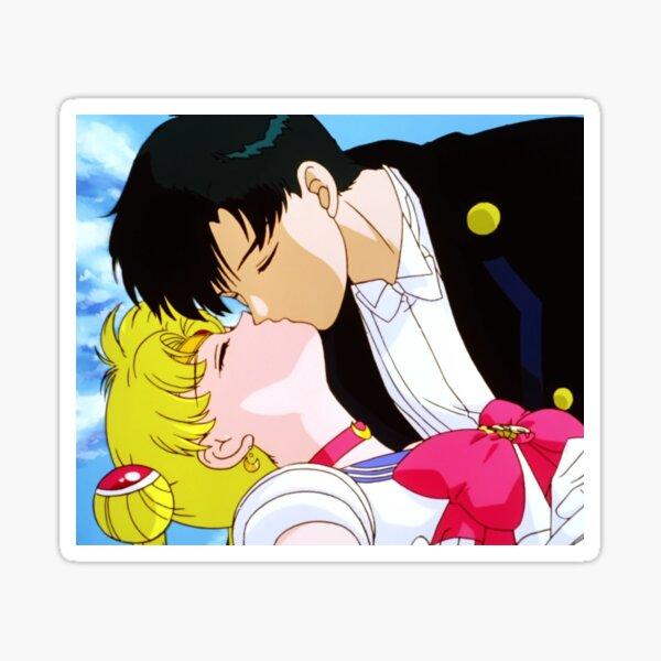 Sailor moon & Tuxedo Mask Sticker