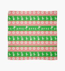 Mary Christmas Sweater Print Scarf