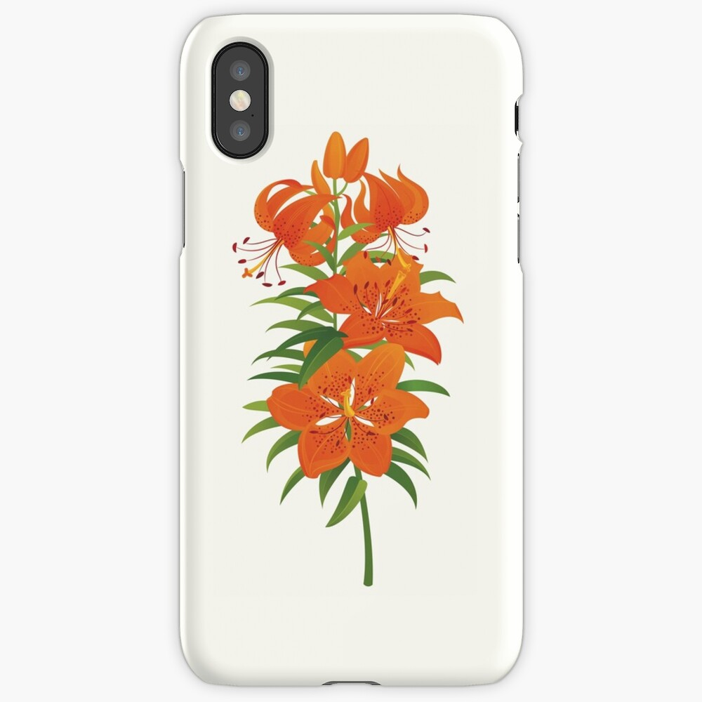 Red Lily iPhone Case & Cover