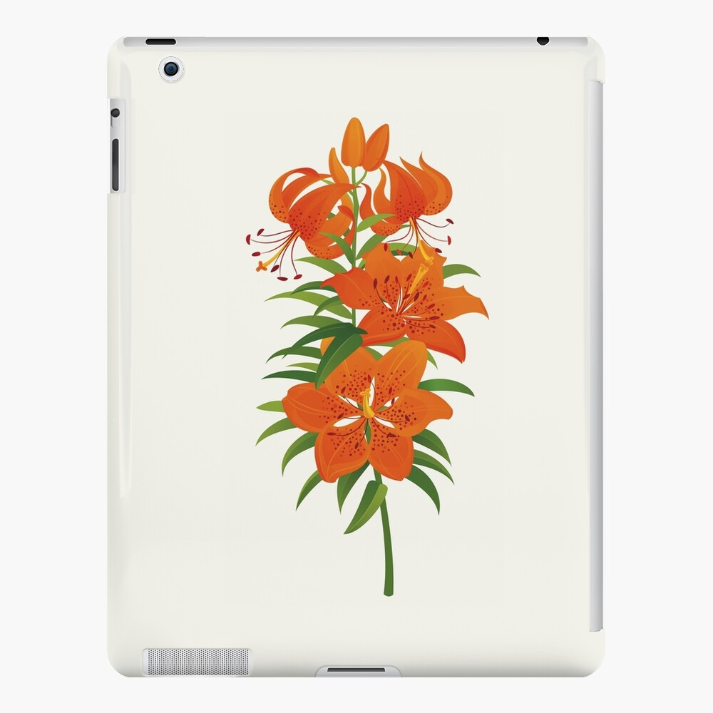Red Lily iPad Case & Skin