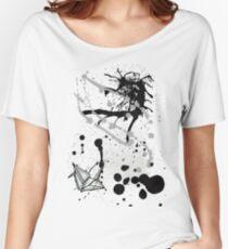 Paper Crane Women's Relaxed Fit T-Shirt
