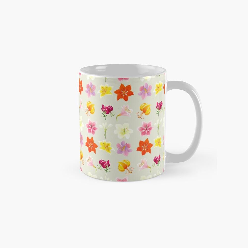 Colorful Lilies Mug