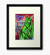 The Evening At The Saloon Framed Print