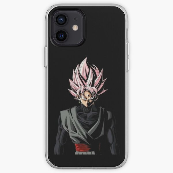 black goku Coque souple iPhone