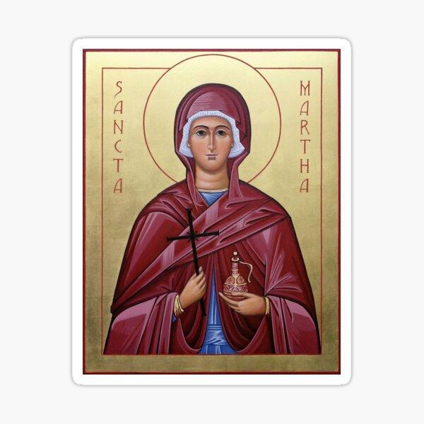 St Martha Sticker