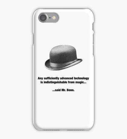 Mr. Benn - Futurist iPhone Case/Skin