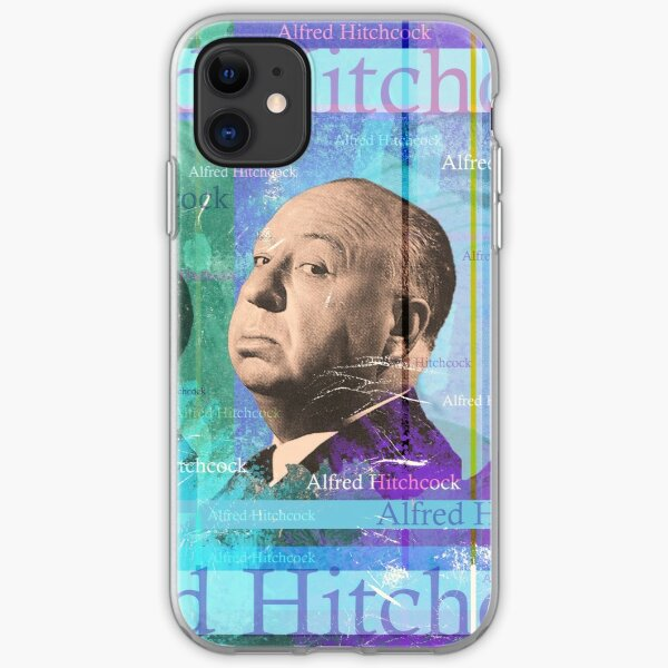 Alfred Hitchcock iPhone Soft Case