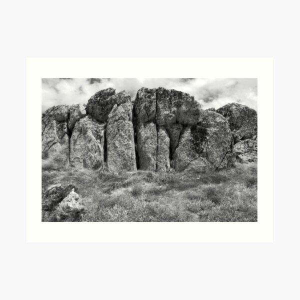 Kosciuszko Rock Art Print