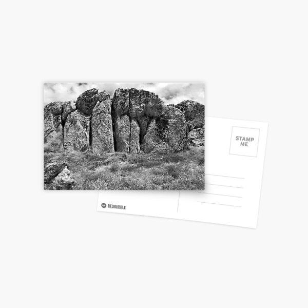 Kosciuszko Rock Postcard