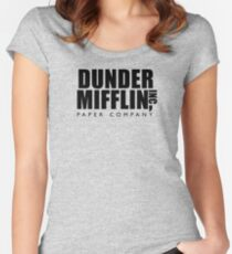 Dunder Mifflin Inc. Women's Fitted Scoop T-Shirt