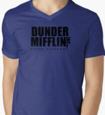 Dunder Mifflin Inc. Men's V-Neck T-Shirt