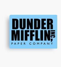 Dunder Mifflin Inc. Canvas Print