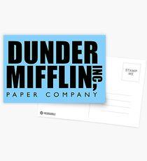 Dunder Mifflin Inc. Postcards