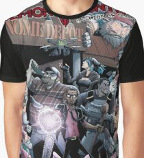 Demon Hunters: A Comedy of Terrors Graphic T-Shirt