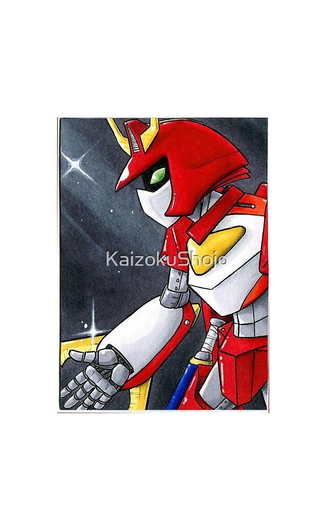 Kabuto Robo Warrior by KaizokuShojo