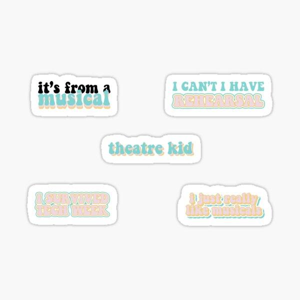 Theatre Kid Sticker Pack Sticker