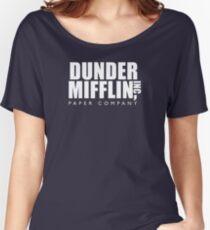 Dunder Mifflin Inc. Women's Relaxed Fit T-Shirt