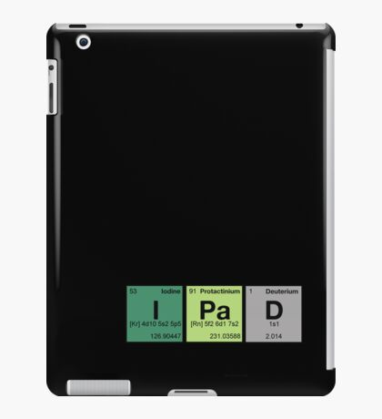 iPhone & iPad - periodic elements scramble! iPad Case/Skin