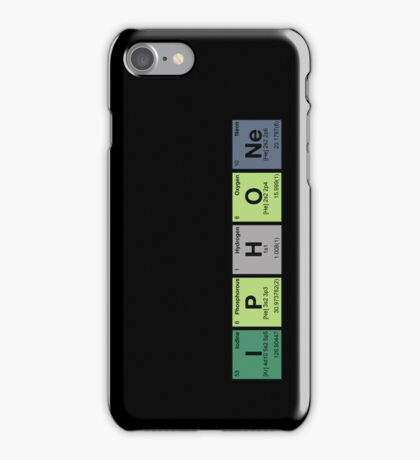 iPhone & iPad - periodic elements scramble! iPhone Case/Skin