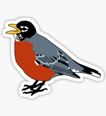 American Robin Bird Sticker
