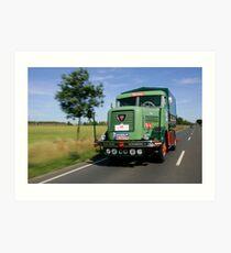 Classic Trucks #1  Art Print
